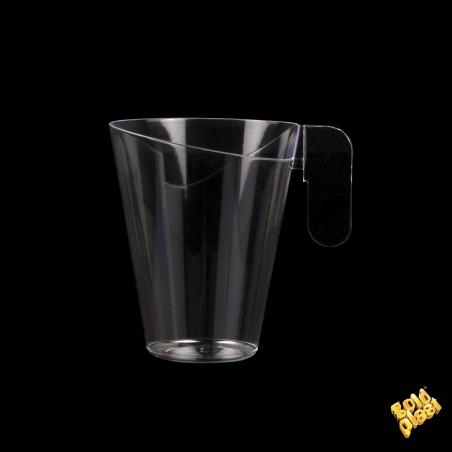 Taza de Plastico Degustacion Design Transp. 155ml (12 Uds)