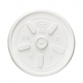 Tapa para Vaso Termico Foam EPS 8oz/240 ml (100 Uds)