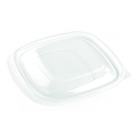 Tapa para Envase Cuadrado Negro 16,5x16,5cm (50 Uds)