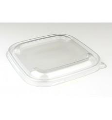 Tapa Plastico PET Transparente para Bol 170x170mm (50 Uds)