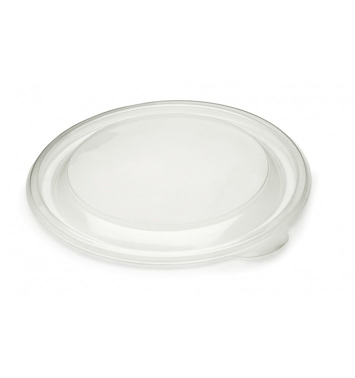 Tapa de Plastico Rigida Transp. Ø19cm (300 Uds)