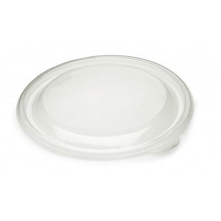 Tapa de Plastico PP Rigido Transp. Ø19cm (300 Uds)