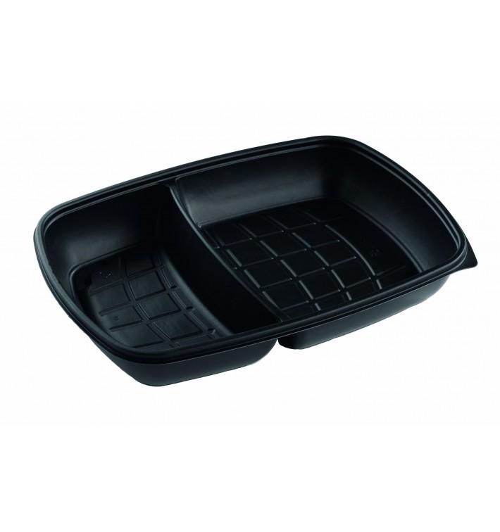 Envase de Plastico PP 2 C. Negro 28x20x4cm (150 Uds)