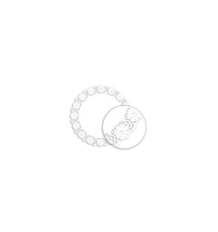 Rodal Calado Blanco de Papel Litos 230mm (250 Uds)