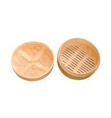 Tapa Vaporera Maxi de Bambú Ø20cm (32 Uds)