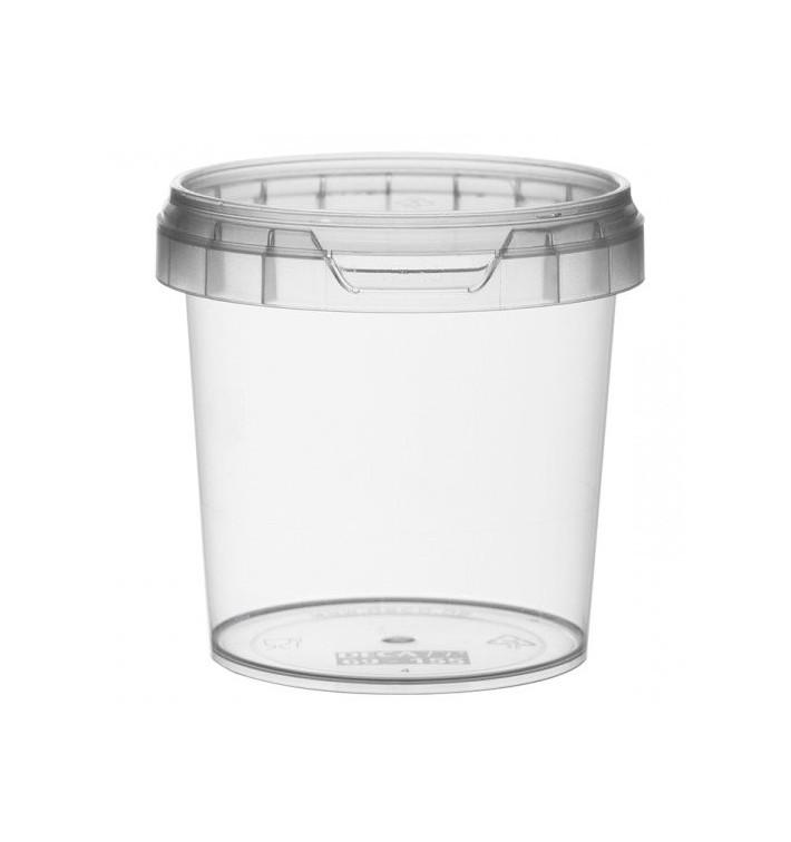 Envase de Plastico redondo inviolable 155 ml Ø6,9 (960 Uds)