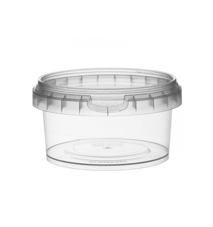 Envase de Plastico redondo inviolable 210 ml Ø9,5 (494 Uds)