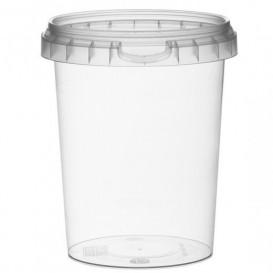 Envase de Plastico redondo inviolable 520 ml Ø9,5 (380 Uds)