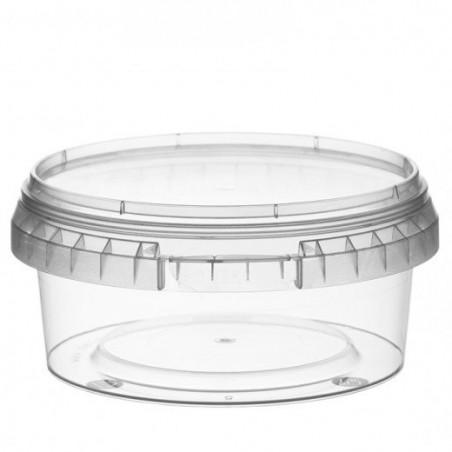 Envase de Plastico redondo inviolable 300 ml Ø11,8 (374 Uds)