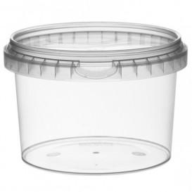 Envase de Plastico redondo inviolable 565 ml Ø11,8 (132 Uds)