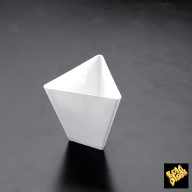Bol de Degustacion Triangle Blanco 70 ml (25 Uds)