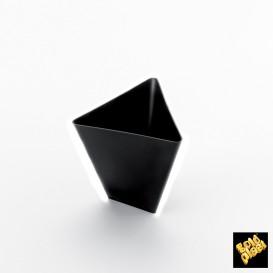 Bol de Degustacion Triangle Negro 70 ml (500 Uds)