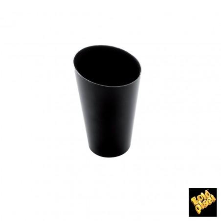 Vaso de Degustacion Conico Alto Negro 70 ml (25 Uds)