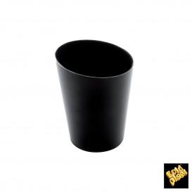 Vaso Degustacion Conico Negro 120 ml (10 Uds)