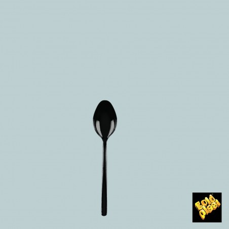 Cucharilla Degustacion Mini-Spoon Negro 100 mm (50 Uds)