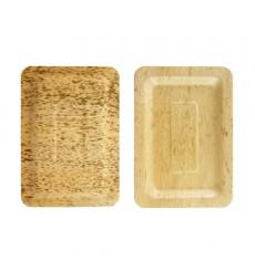 Bandeja de Bambú 20x14x1cm (10 Uds)
