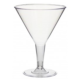 Copa de Plastico Transparente 215ml 2P (250 Uds)