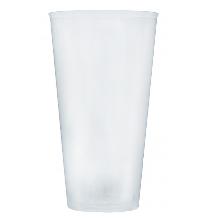 Vaso de Plastico Cocktail 470ml PP Transparente (20 Uds)