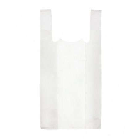 Bolsa Plastico Camiseta 25x30cm Blanca (200 Uds)