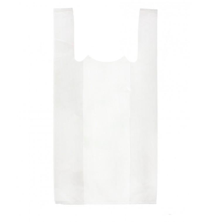 Bolsa Plastico Camiseta 30x40cm Blanca (6000 Uds)