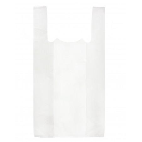 Bolsa Plastico Camiseta 35x40cm Blanca (2400 Unidades)