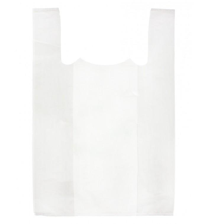 Bolsa Plastico Camiseta 70x80cm Blanca (100 Uds)