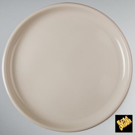 Plato de Plastico para Pizza Negro Ø350mm (75 Uds)