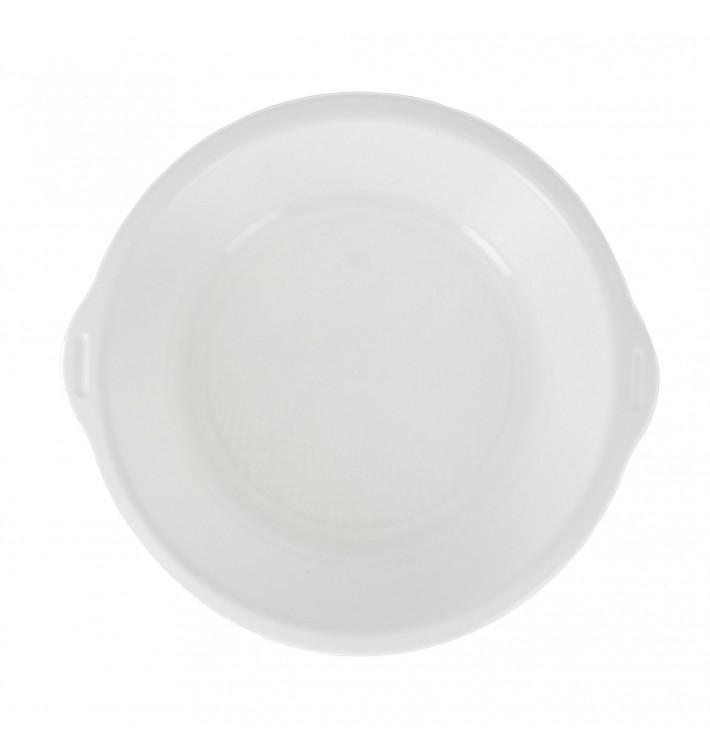 Bol de Plastico con Asas Blanco Ø195mm (50 Uds)