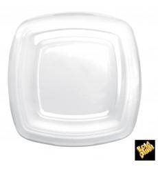 Tapa de Plastico Transp. para Plato Square PET 180mm (300 Uds)
