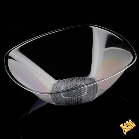 Bol de Plastico Transparente Ø277mm PS 1250ml (3 Uds)