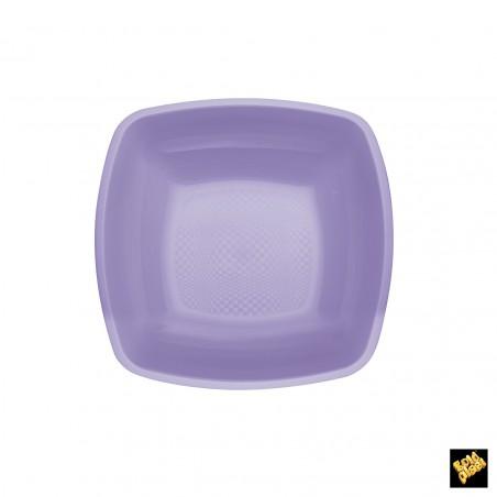 Plato de Plastico Hondo Lila PP 180mm (150 Uds)