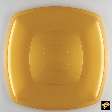 Plato de Plastico Llano Blanco PS 300mm (72 Uds)