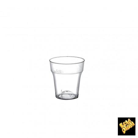Vaso de Plastico Chupito Transp. PS 20 ml (50 Uds)