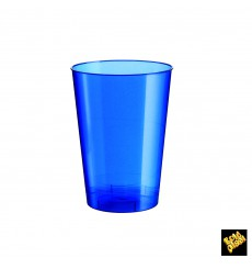 Vaso de Plastico Moon Azul Pearl PS 230ml (1000 Uds)