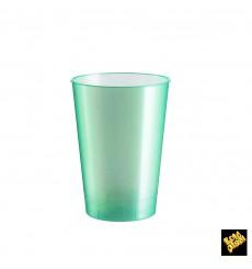 Vaso de Plastico Moon Tiffany Pearl PS 230ml (50 Uds)