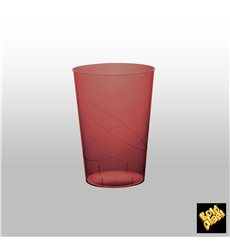 Vaso de Plastico Moon Burdeos Transp. PS 230ml (700 Uds)