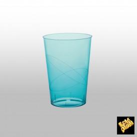 Vaso de Pastico Turquesa Transp. PS 200ml (350 Uds)