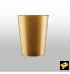 Vaso de Plastico Moon Oro PS 320ml (400 Uds)