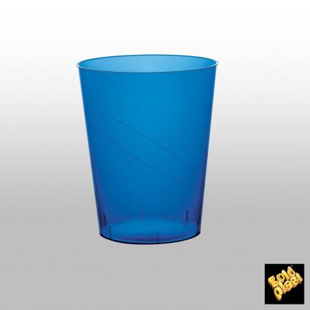 Vaso de Pastico Azul Transp. PS 350ml (500 Uds)