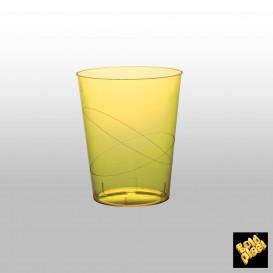 Vaso de Pastico Amarillo Transp. PS 350ml (50 Uds)