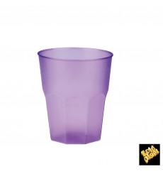 """Vaso de Plastico """"Frost"""" Lila PP 270ml (20 Uds)"""