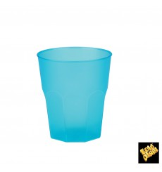 "Vaso de Plastico ""Frost"" Turquesa PP 270ml (20 Uds)"