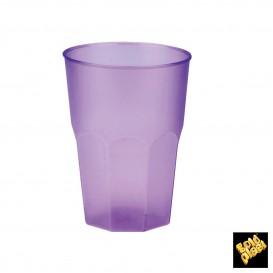 Vaso de Plastico Lila PP 350ml (20 Uds)