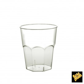 Vaso Plastico para Cocktail Transp. PS Ø73mm 220ml (200 Uds)