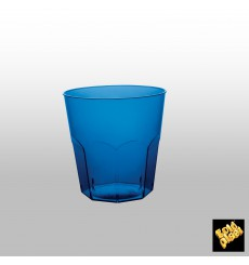 Vaso Plastico Azul Transp. PS Ø73mm 220ml (1000 Uds)