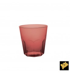 Vaso Plastico Burdeos Transp. PS Ø73mm 220ml (50 Uds)