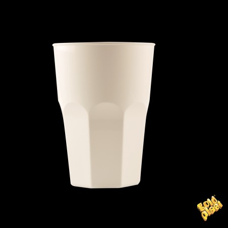 Vaso Plastico para Cocktail Blanco PP Ø84mm 350ml (200 Uds)