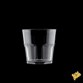 Vaso de Plastico Transparente SAN Ø73mm 160ml (96 Uds)