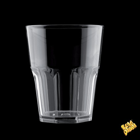 Vaso de Plastico Transparente SAN Ø85mm 300ml (120 Uds)