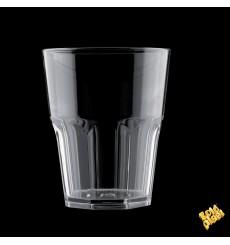 Vaso Reutilizable SAN Rox Transparente 300ml (8 Uds)